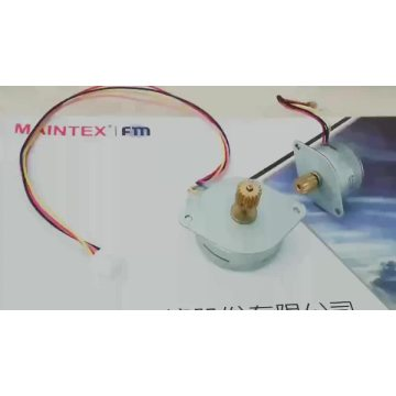 12V 7.5/15 Degree 35mm PM Stepper Motor