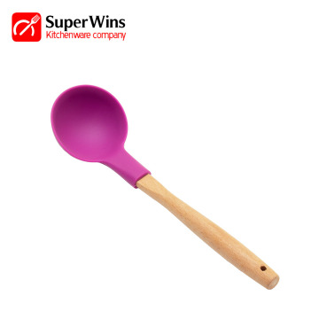 Silicone Kitchen Cooking Utensils Soup Ladle