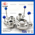 Food grade stainless steel control butterfly valve