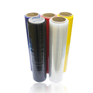Coloured Heat Resistant Plastic Soft Stretch Wrap Film