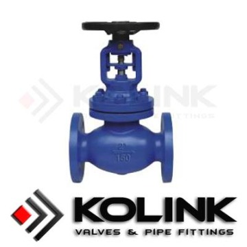 API Bellows Seal Globe Valve