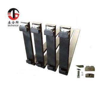 ISO standard Class 3A hook type forks Heli forklift spare parts with good price