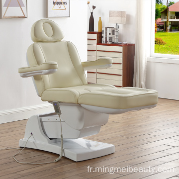 Table de massage faciale électrique