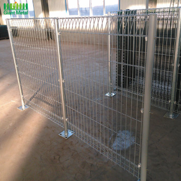 Security Welded Roll Top and Bottom BRC Fence