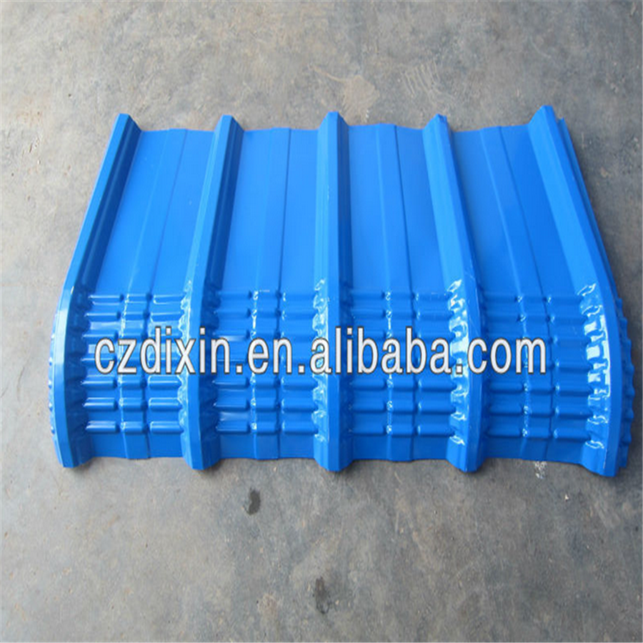 Arch metal roofing sheet roll forming machine