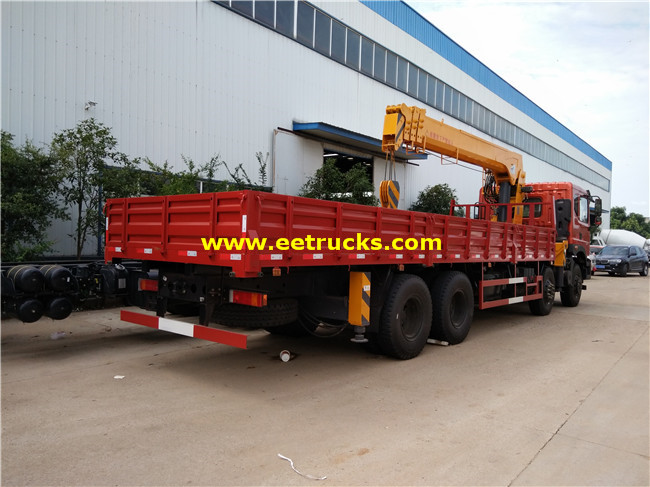 340HP 18ton Truck Mounted Cranes
