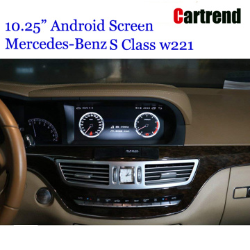 "10.25 ""Android Multimedia Screen dla Mercedesa S Class"