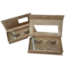 Fashional Cosmetic Hot Stamp Eyelashes Packaging Paper Box