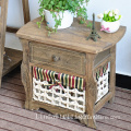 nightstands furniture wooden bedside night table shabby chic drawer console cabinet