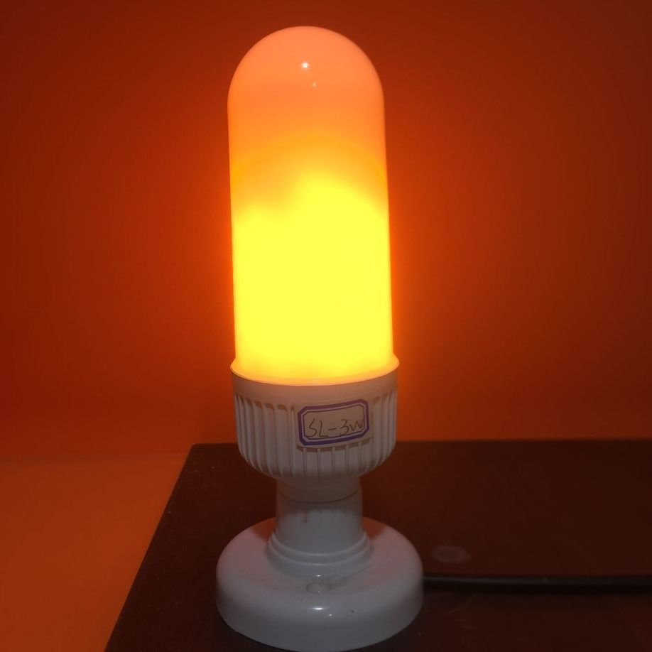 Led flame 4-6W  flame shape bulb light