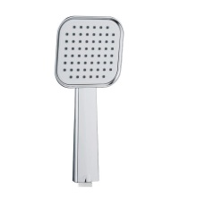 square abs chrome hand held shower head