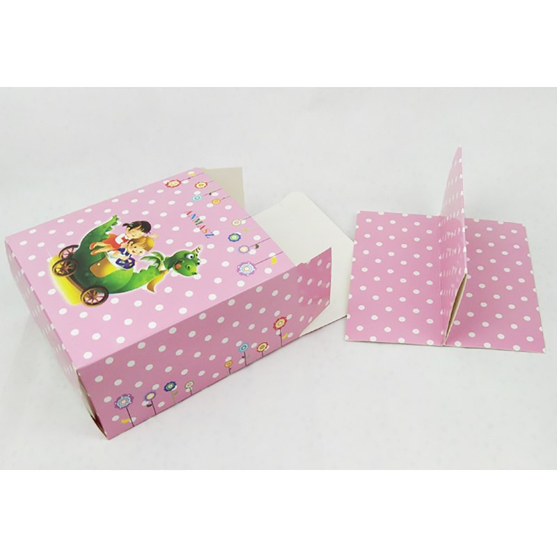 Custom Cute PVC Window Baby Shoes Packaging Boxes
