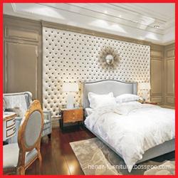 Bilik Hotel Kayu Klasik Panas Penjualan Set Perabot Tidur