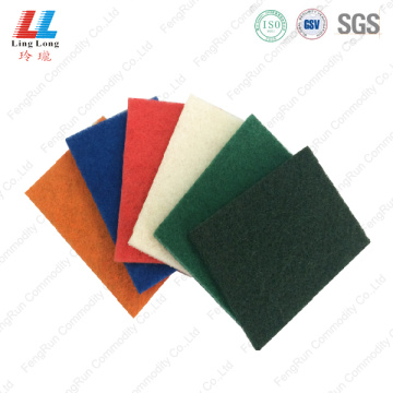 thin kitchen accessories colorful scouring pad