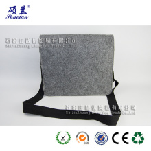 Good quality 100% polyester felt shoulder bag