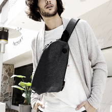 Men Fashion Chest Sling Backpacks Bags Rope Bag