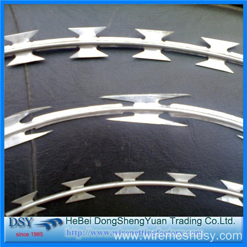 Hot Sale Razor Blade Barbed Wire