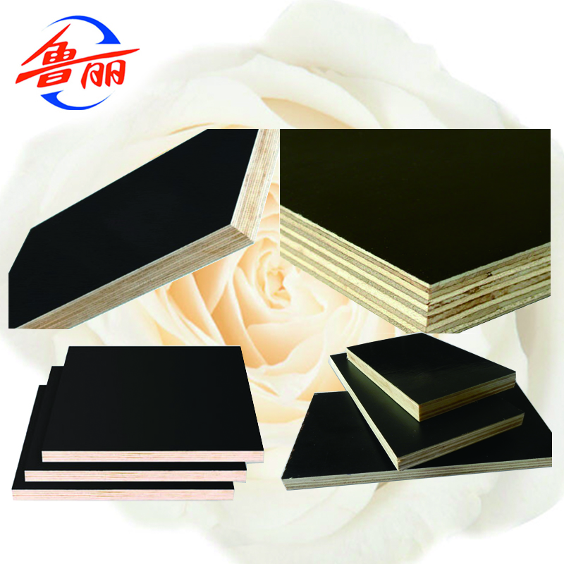 Black Film Faced Plywood For Construction