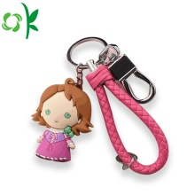 Funko Pop Promotional Gifts Keychain Custom Silicone Keyring