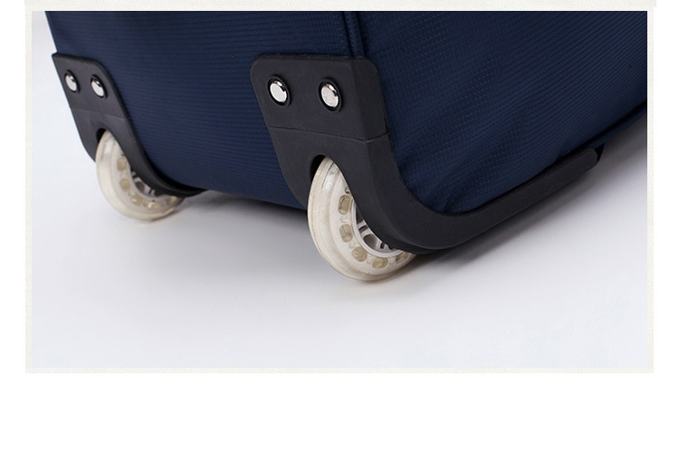 Shock absorption design trolley bag