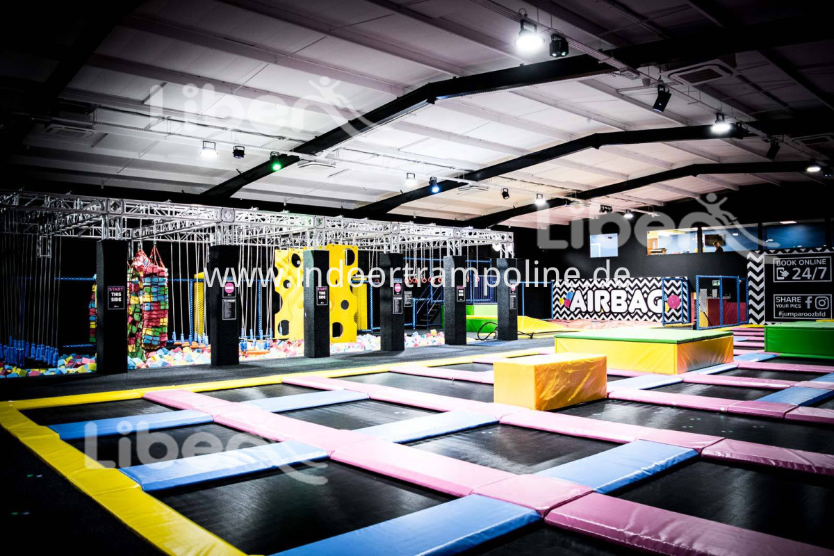 Indoor Trampoline Park UK