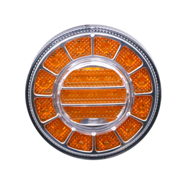 Round LED Truck Bus Indicator Turn Light
