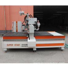 4 heads cnc carving machine Superstar Brand
