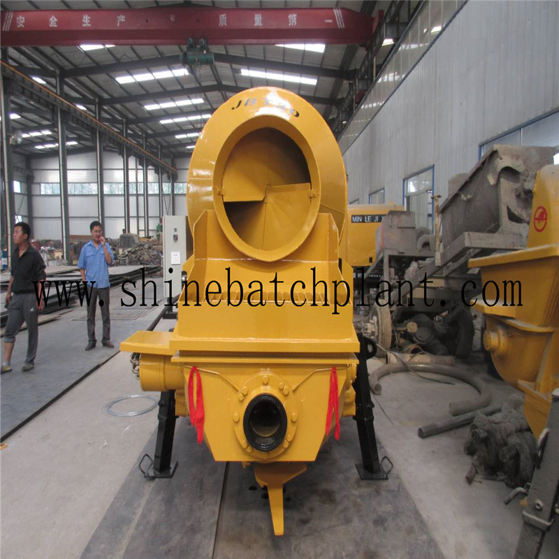 New Concrete Pump With Mixer