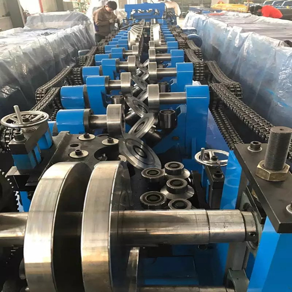 Steel Purlin C Channel Rolling Machine China Manufacturer