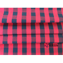 Yarn Dyed Cotton Double Face Check Shirt Fabrics