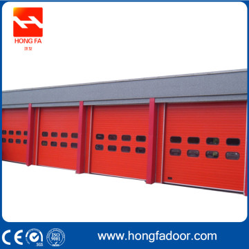 Aluminium High Speed ​​Cepat Rapid Rolling Shutter Door