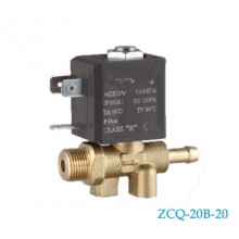 Male M12x6.5mm Brass Solenoid Valve