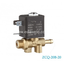 High reputation for for Steam Welding Machines Used Valve Male M12x6.5mm Brass Solenoid Valve supply to Lebanon Suppliers