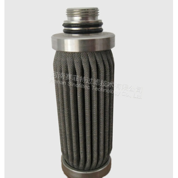 Stainless steel 316L Pleated Filter Medium Filter cartridges