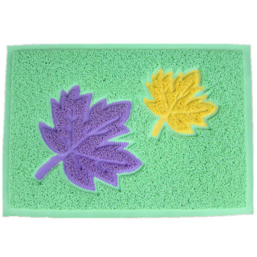 Colorful joint waterproof pvc coil door mat