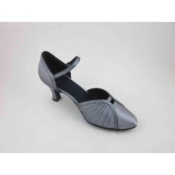 Grey womens dance shoes