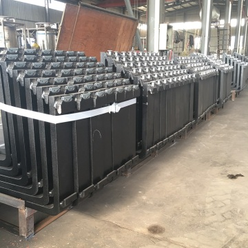 20t loading  free forged container lifter forks with good quality
