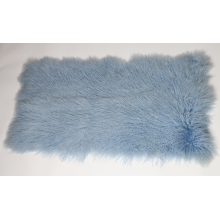 China for Tibetan Fur Blanket Curly Lamb Sheepskin Blanket supply to French Guiana Importers