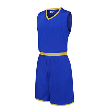 Uniforme simple de basket de formation de couleur de sucrerie