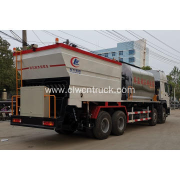SINOTRUCK 23CBM Bitumen And Gravel Synchronous Seal Truck