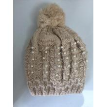 Chinese Professional for Jacquard Knitting Hat Bead Thick Lining Jacquard Winter Knitting  Hat supply to Jamaica Manufacturer