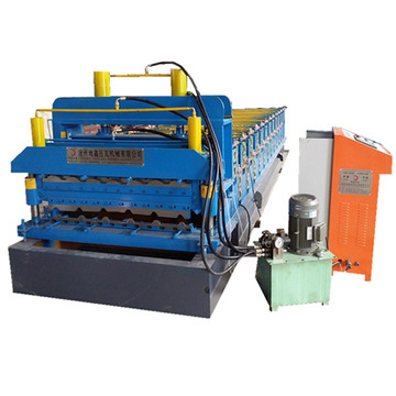 Automatic Glazed Tile Double Layer Cold Forming Machine