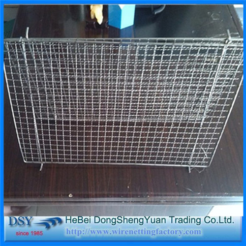 Round Shaped Bbq Grill Net