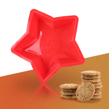 Cute Star Shape Silicone Cake Mold