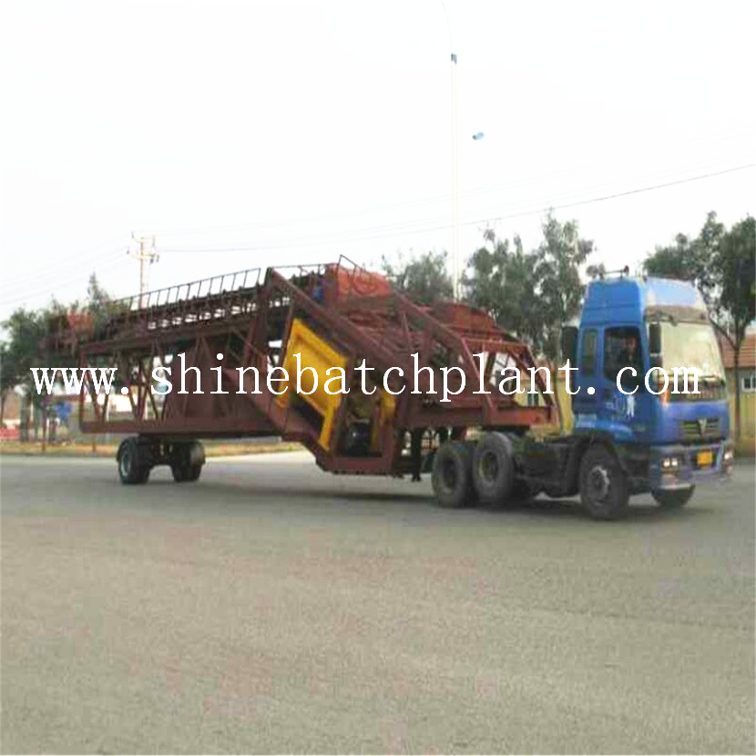 Hot Sell 90 Portable Concrete Batching Machinery