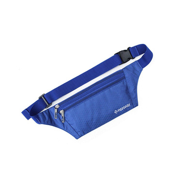 Customize Colorful Printed Promotional Fitness Polyester Waist Bag  With Large Capacity