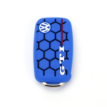 Silicone car key head fob protective cover case
