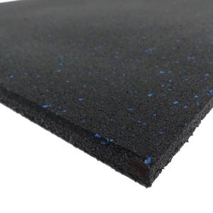 20mm Gym Rubber Mat With Blue Fleck