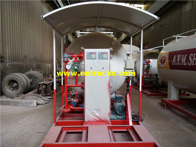 Skid-mounted LPG Filling Station