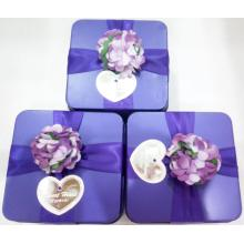 New Arrival for Wedding Chocolate Tin Box Chocolate Tin Can Box supply to Netherlands Factories